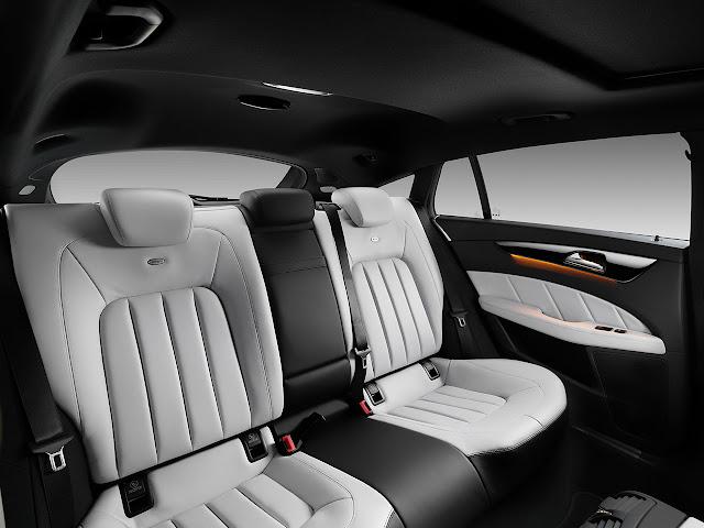 пассажирские сидения задние Mercedes CLS Shooting Brake