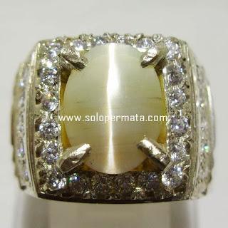 Batu Permata Opal Cat Eye