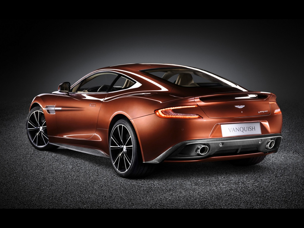 2013 aston martin vanquish studio rear angle wallpapers free 4d. Cars Review. Best American Auto & Cars Review
