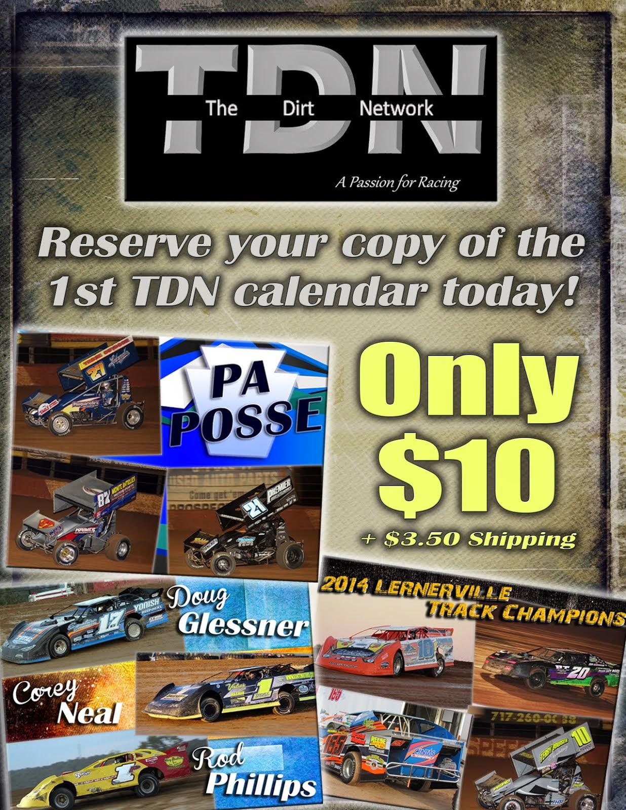 2015 TDN Calendar