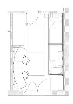 gen odası çizim planı