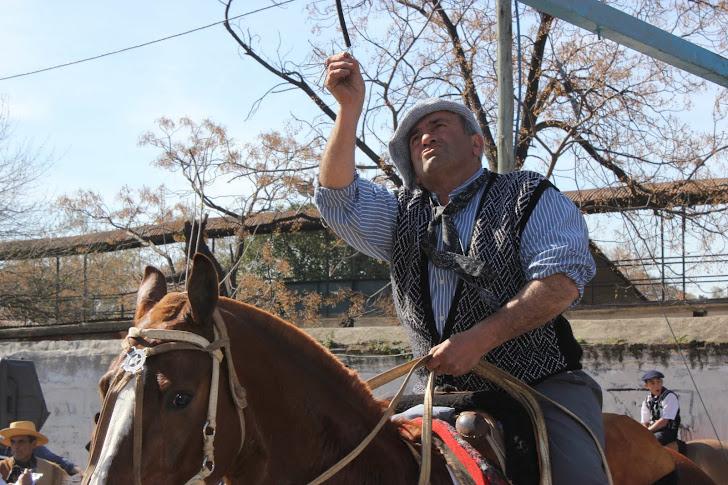 Gaucho henger opp ring