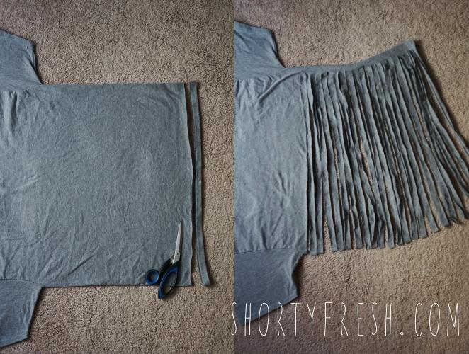 DIY TSHIRT YARN POUF Shortyfresh Inspiration T Shirt Yarn Pouf