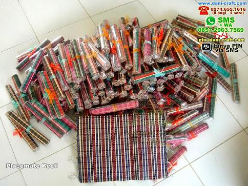 Placemate Kecil Bambu Lidi Gorontalo