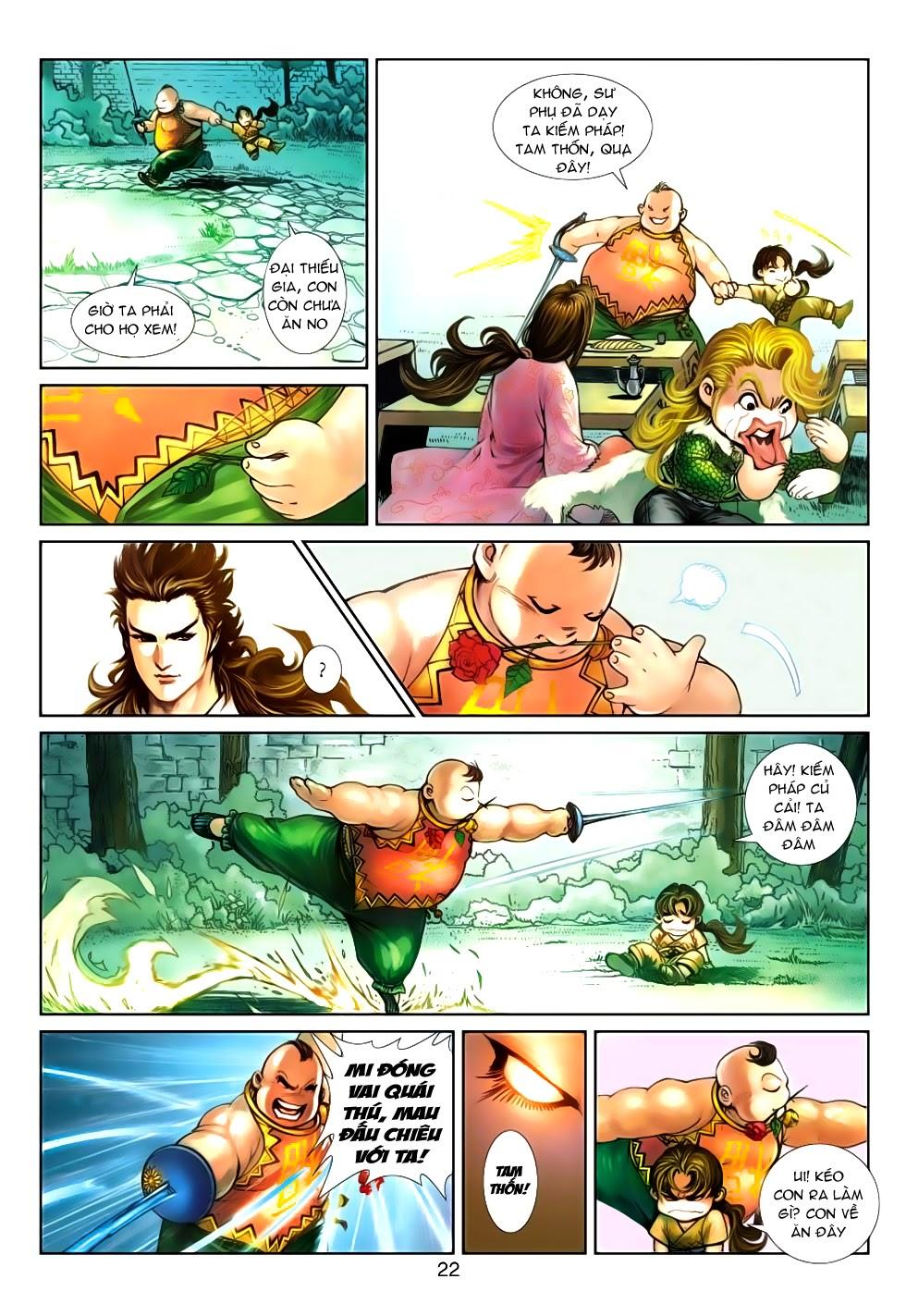 Thần Binh Tiền Truyện 4 - Huyền Thiên Tà Đế chap 5 - Trang 22
