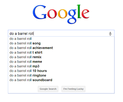 google do a barrel roll