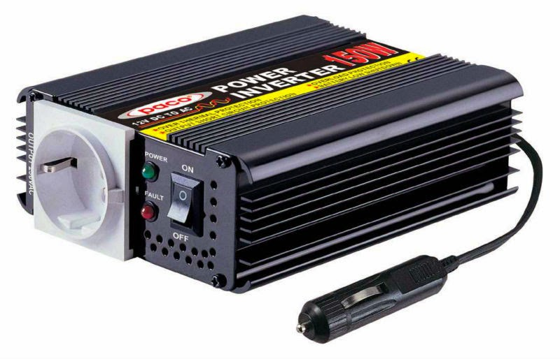 Power Inverter Paco150 Watt: Overcome Power Requirements
