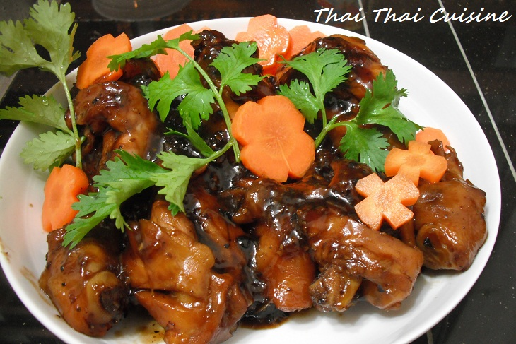 LEARN HOW TO COOK THAI STYLE COCA-COLA CHICKEN
