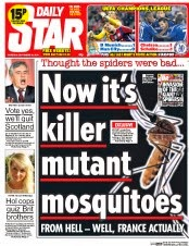 killer mosquitoes uk