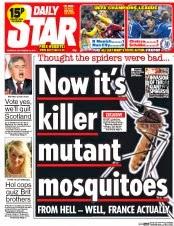 killer mosquitoes uk