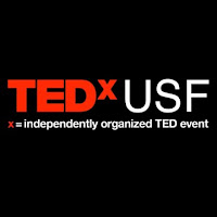 Logo for TEDx USF