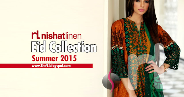 Nishat Linen Luxury Eid Collection 2015