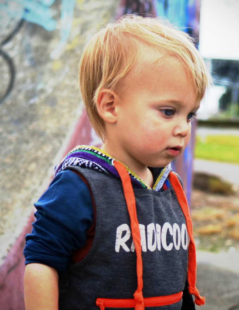 Radicool Dude for Autumn/Winter streetwear collection for kids