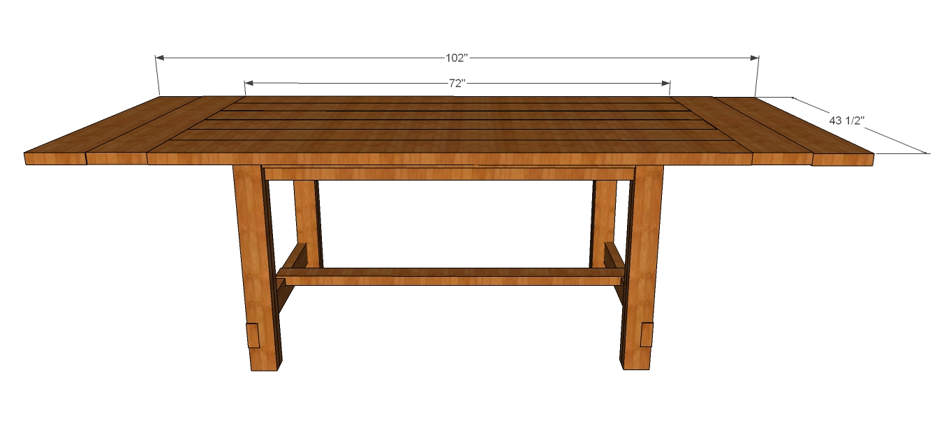 PDF DIY Rustic Dining Table Plans Download Sewing Room