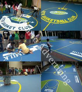 Branding Lapangan Basket