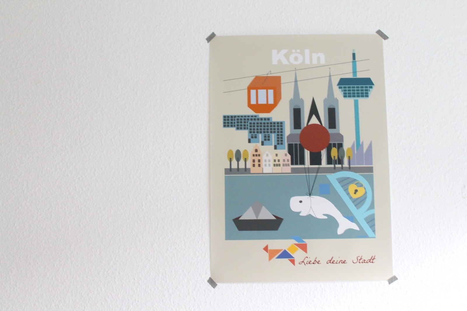Koeln Illustration