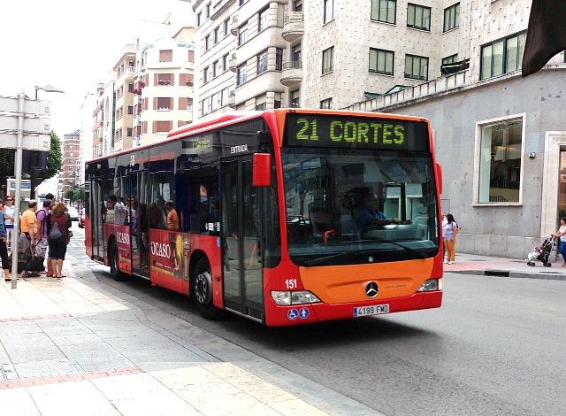 BUS BARRIO DE CORTES