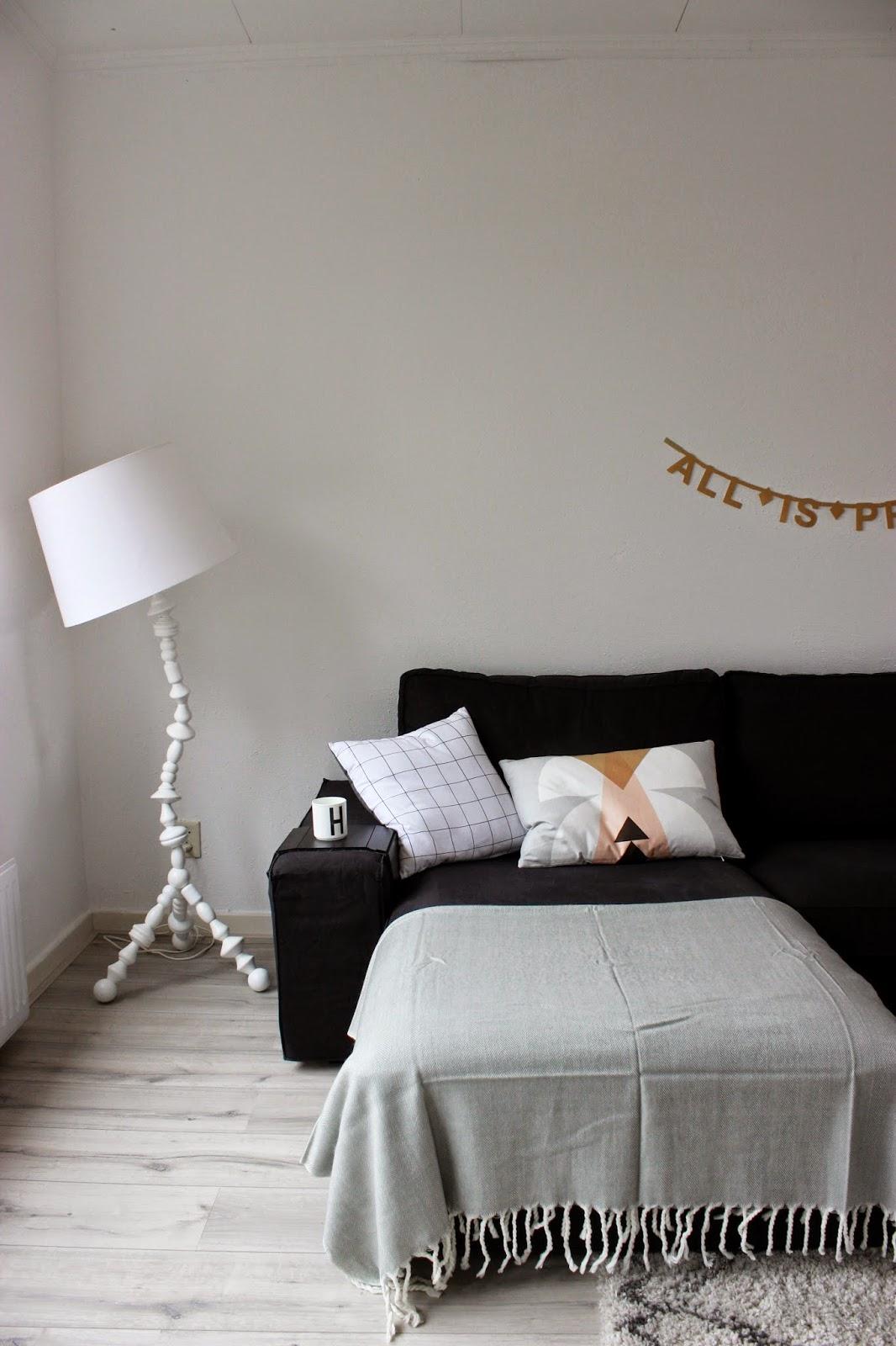 Huisjeaandehaven de kiezelgroene lambrisering - Muurkleuren voor slaapkamer ...