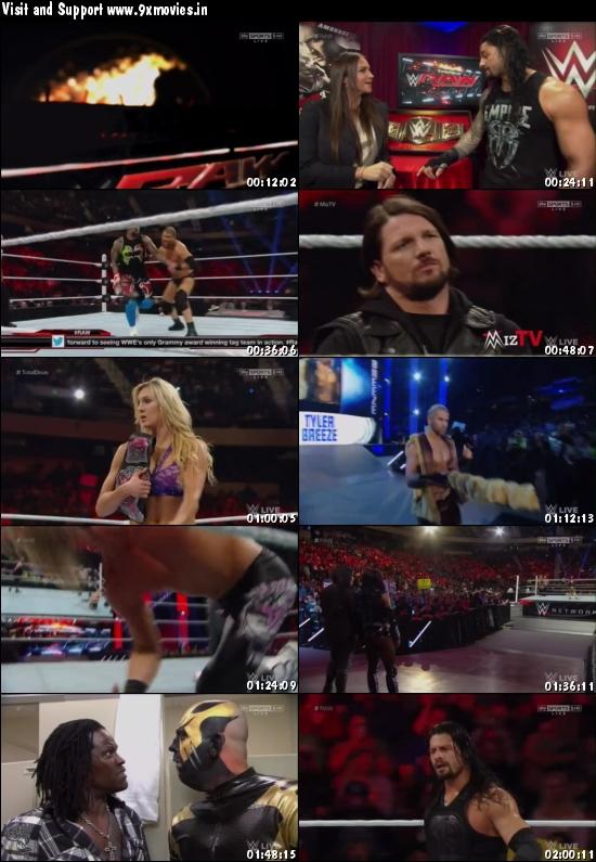 WWE Monday Night Raw 01 Feb 2016 HDTV 480p