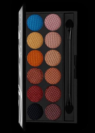Sleek Makeup i Divine Palette in Sunset