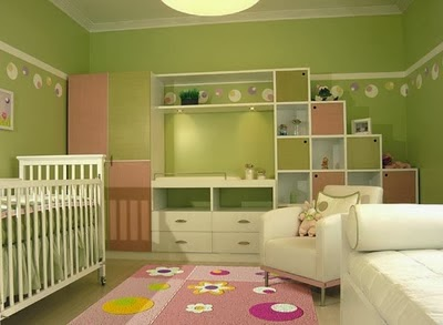 DORMITORIO DE BEBES VERDE - CUNA PARA BEBES VARONES COLOR VERDE  - RECAMARA PARA NENES COLOR VERDE   vía http://dormitoriobebes.blogspot.com/2014/02/dormitorio-de-bebes-verde.html