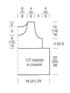 http://www.vyazemsami.ru// Туника с цветами Выкройка