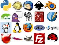 Imagens com programas de internet