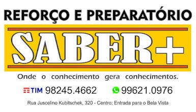 REFORÇO E PREPARATÓRIO SABER+