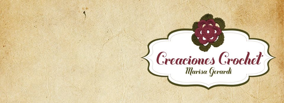 CREACIONES CROCHET- Marisa Gerardi