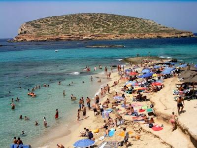 Ibiza playa fiesta
