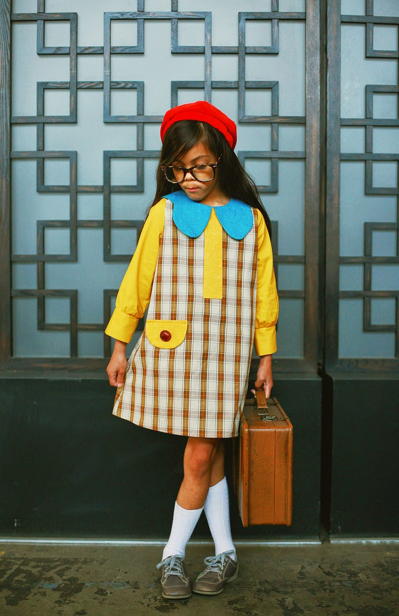 Misha Lulu AW14 - retro dress Watson Girl