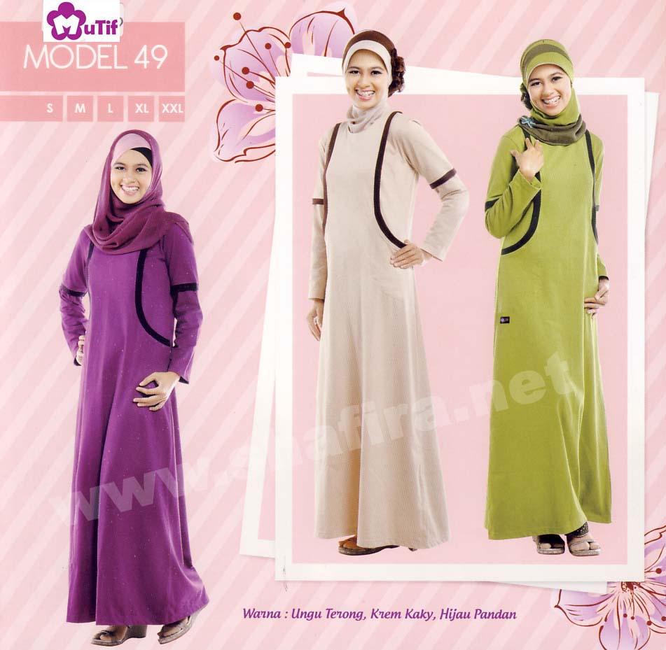 Katalog baju busana mutif terbaru 2012 eceran discount 10 Baju gamis elif