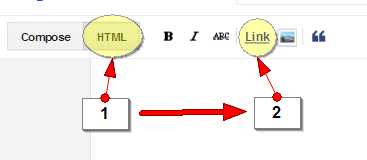 Langkah pertama membuat link