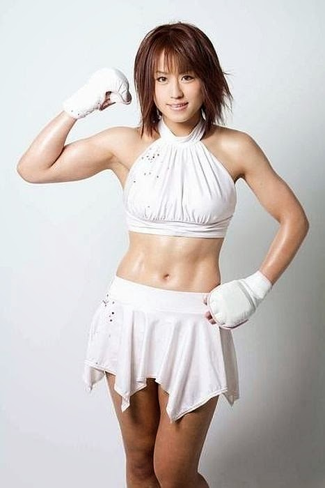 Mika Nagano - Female MMA and Wrestling