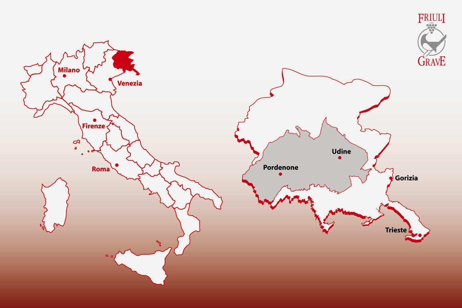 Friuli Grave DOC wine region