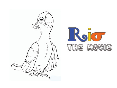 Rio Bird The Movie Coloring Pages Picture