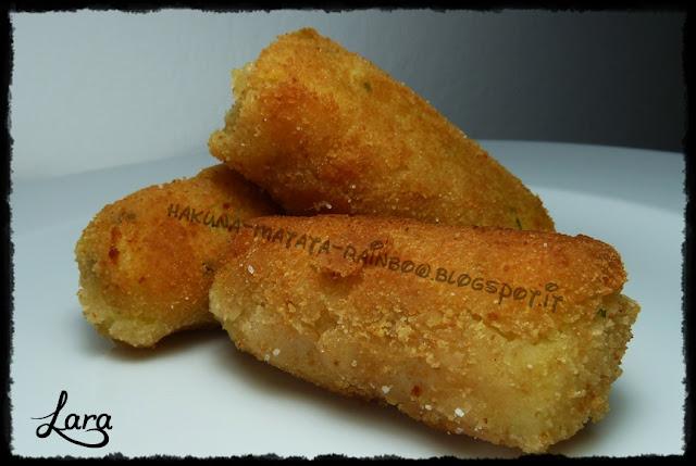 crocchette di patate (senza uova)