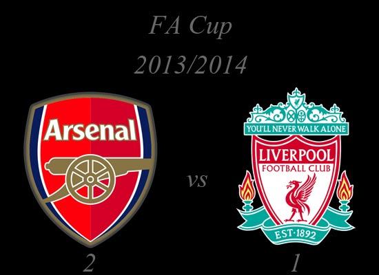 Arsenal vs Liverpool FA Cup February 2014