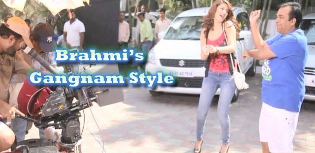 Brahmi, Shruti 'Gangnam' style