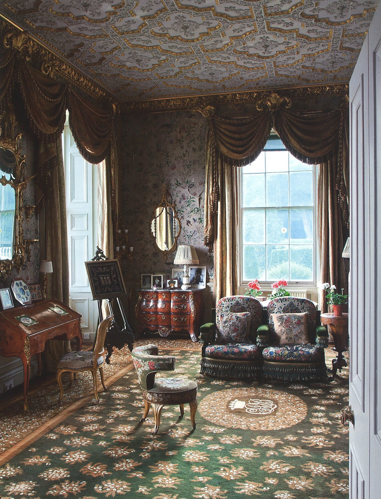 Scottish Country House Interior
