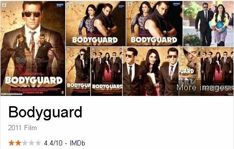 Bodyguard - Film India (Bollywood) Terbaik Dan Terpopuler Sepanjang Masa