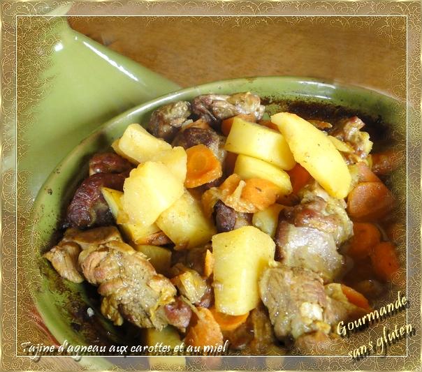 Tajine d'agneau aux carottes et au miel