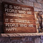 Thankful People quote