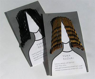 Tarjeta de visita peluquería