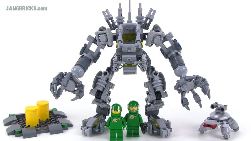 Lego Ideas Exo Suit 21109 Set Review