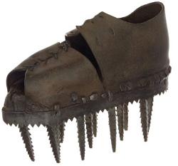 Salah satu koleksi Museum Sepatu