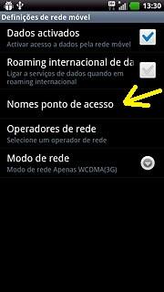 APN celular LG maximo true HD LTE(P936)