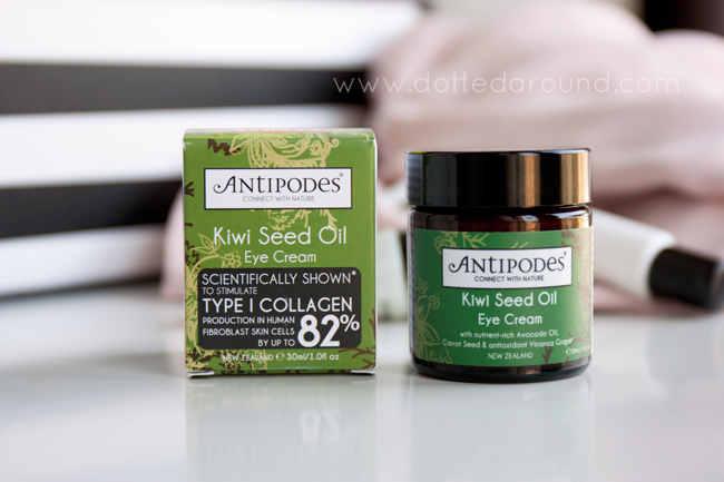 Antipodes kiwi seed oil eye cream contorno occhi