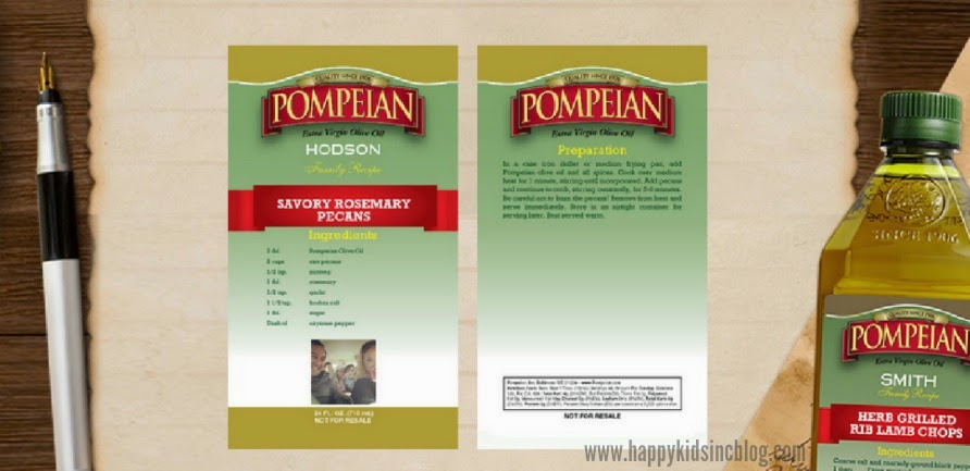 Pompeian Olive Oil Label Maker