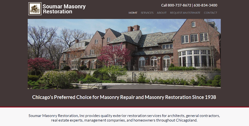 Leading provider of masonry restoration and repair services